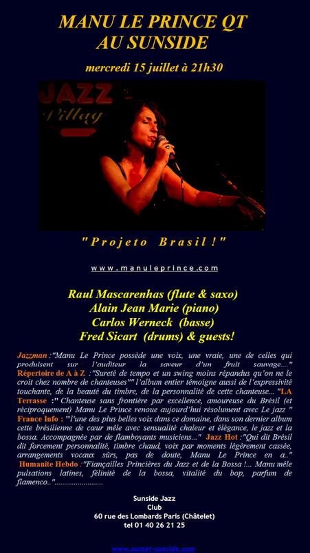 Manu Le Prince Concerts